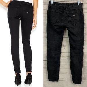 Guess power skinny super stretch black jeans
